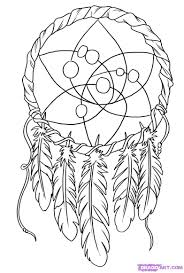 how to draw a dreamcatcher step by step symbols pop culture