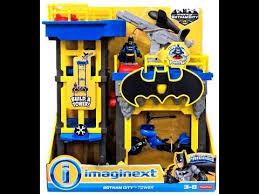 imaginext batman gotham tower