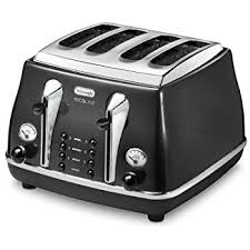amazon black friday toasters de u0027longhi toaster scultura ctz4003 g 1800 w grey amazon co uk