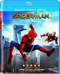 amazon spider man homecoming blu ray tom holland michael