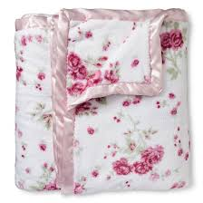 floral bed blanket king pink simply shabby chic target