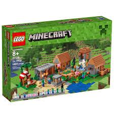 lego announces the village largest minecraft set yet box idolza