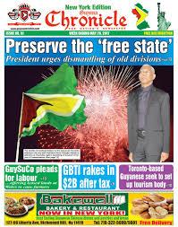 cuisine am ag uip guyana chronicle york edition e paper 26 05 2017 by guyana