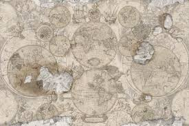 vintage map wallpaper