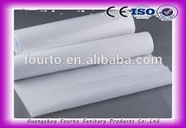Rubber Sheets For Bed Nonwoven Disposable Sanitary Couch Bed Sheet In Roll Hospital