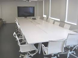 White Meeting Table Want Dont Want Com Second Hand Office Furniture Used Office