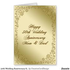 50th wedding anniversary greetings 50th wedding anniversary greeting card 50th wedding