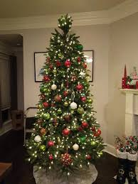 what artificial christmas tree was black friday deal at home depot ge 9 ft pre lit led just cut frasier fir artificial christmas