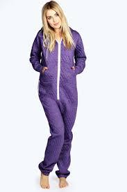 purple xl womens quilted onesie 20 00 onesies womens