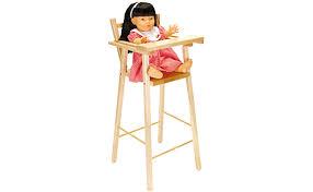 chaise haute poup e chaise haute de poupée brault bouthillier