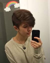 tomboy hairstyles queercuts hair pinterest haircut styles short hair and pixies