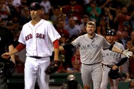 Red Sox Yankees Benches Clear Old Fighting Spirit Returns To Yankees Red Sox Rivalry