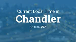 Chandler Az Zip Code Map by Current Local Time In Chandler Arizona Usa