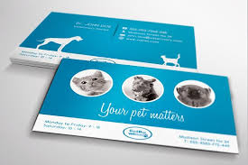 veterinary business card business card templates creative market