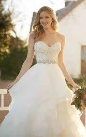 beaded corset princess skirt wedding separates martina liana