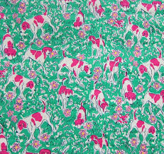 lilly pulitzer corduroy fabric finishing by lillyfabricshop home