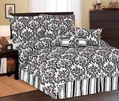 Black Floral Bedding Most Beautiful Black And White Bedding Sets The Comfortables