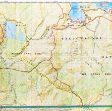 Map Of Yellowstone Park Yellowstone Super Volcano Projected Eruption Maps Geology Beneath