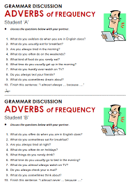 adverbs of frequency all things grammar