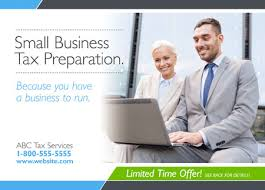 29 brilliant tax preparation direct mail postcard templates for