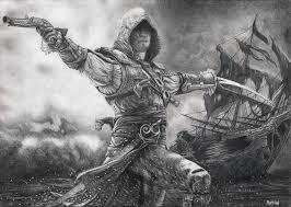 Reddit Assassins Creed Black Flag Assassin U0027s Creed Iv Black Flag Edward Kenway By Bajan Art On
