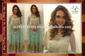 exclusive ethnic indian latest blue color bollywood designer