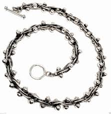 sterling silver beaded necklace images Taxco vintage dna design mexican sterling silver beaded bead JPG