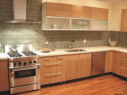 Kitchen Backsplash Ideas  Contemporary With Dark Cabinets - Simple kitchen backsplash ideas