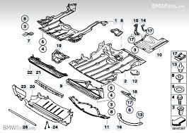bmw 325i parts catalog shield engine comp underfloor panelling bmw 3 e90 325i n52