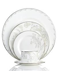 marchesa by lenox dinnerware paisley bloom 5 piece place setting