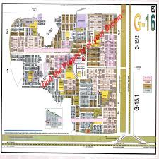 Islamabad Map Sector G 16 Miechs Islamabad 30x60 Plot In G 16 1 For Sale