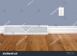 Laminate Flooring Outlet Bedroom Wall Heating Register Electrical Outlet Stock Photo