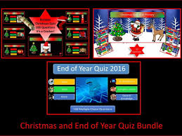 bumper 100 question end of year quiz 2017 by krazikas teaching