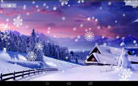 winter clock wallpaper android apps on play