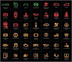 Honda Warning Lights Honda Dashboard Warning Lights Symbols Car Interior Design Car