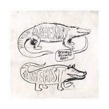 alchemist retarded alligator beats vinyl lp cover art