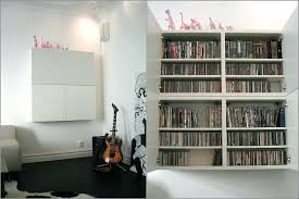 Dvd Storage Cabinet With Doors Bookcase Ikea Expedit Makeover The Creative Cubby Dvd Storage