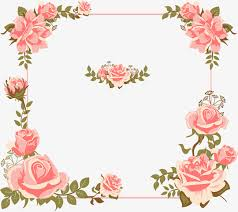 wedding invitations borders s day card painted pink borders wedding