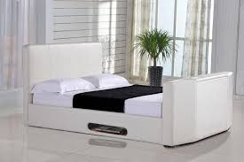 casino 4ft6 double tv bed ivory leaders creative tv beds