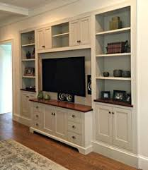 In Wall Shelves by Furniture White Varnished New Built In Wall Units With Open Racks