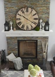 stone fireplace decor stone fireplace mantel decorating ideas project awesome photo on