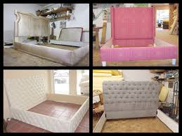 Fabric For Upholstered Headboard by Upholstered Headboards Van Nuys California Furniture Upholstery