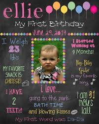 birthday signing board items similar to printable custom birthday sign photo board