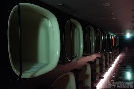 nine hours in a capsule sleeping in a sci fi hotel that wants you