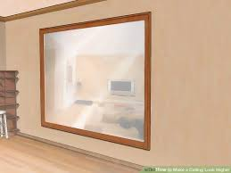 How To Build A Tray Ceiling How To Make A Ceiling Look Higher 9 Steps With Pictures