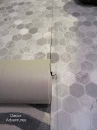 how to install a sheet vinyl floor decor adventures
