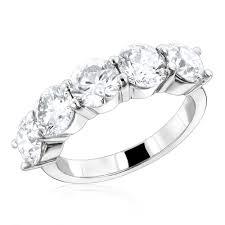 large diamond rings 5 large diamond ring 3 75ct 14k designer anniversary jewelry