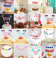 party supplies cheap cheap happy birthday cake topper set for kids happy birthday