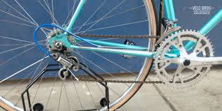 peugeot bike vintage peugeot 103 sport teal 56cm c c u2013 velo bros fahrräder