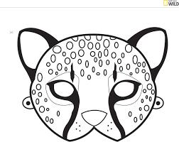 mask template les 25 meilleures idées de la catégorie animal mask templates sur